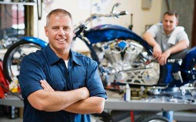 Storing and Working on Your Motorcycle